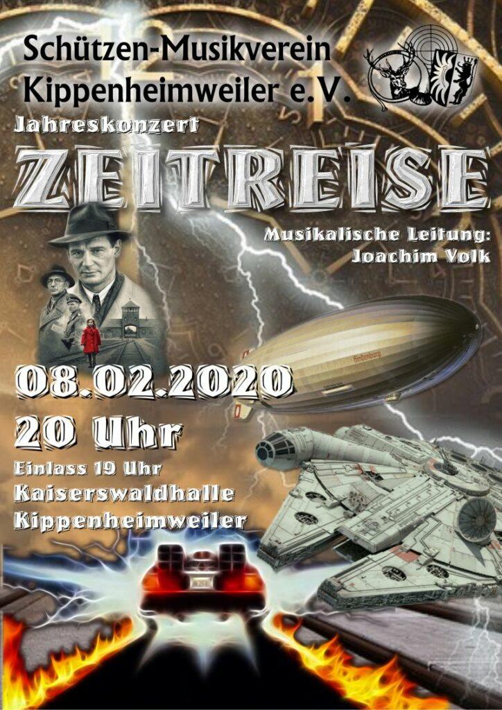 Jahreskonzert 2020, Motto: Zeitreise